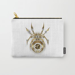Spider with Clock ( Steampunk ) Carry-All Pouch
