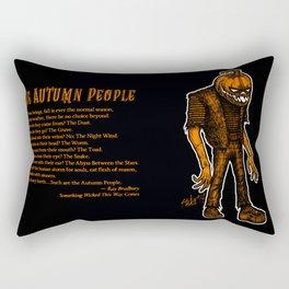 Autumn People 4 Rectangular Pillow