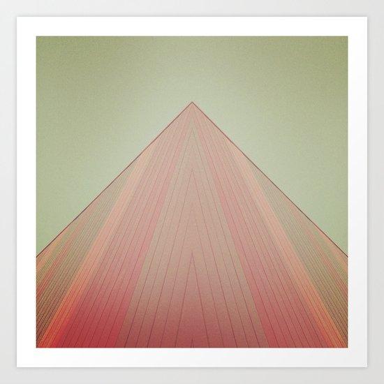 Modern Pyramid  Art Print
