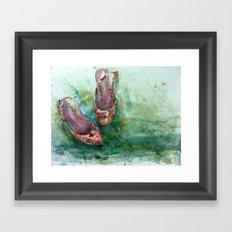 Summershoes Framed Art Print