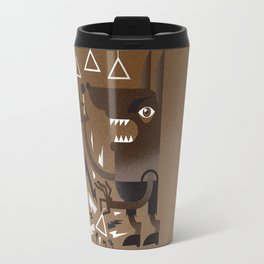"""Wolf"" Monster Rock Travel Mug"