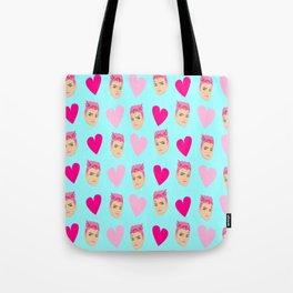 Zarya valentine blue Tote Bag
