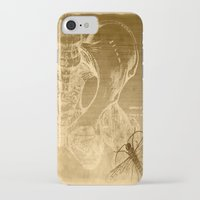 anatomy iPhone & iPod Cases featuring Anatomy by ViviRajski