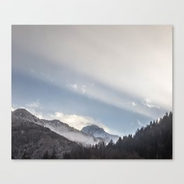 Driving Through Austria Canvas Print