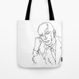Vladimir Nabokov Tote Bag