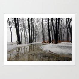 Wintermission Art Print