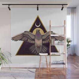 Geometric pigeon Wall Mural