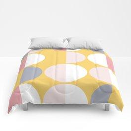 Mid Century Modern Moon & Sun Pattern 2 Comforters