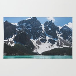 Landscape | Lake Moraine | Alberta | Wild | Nature Rug