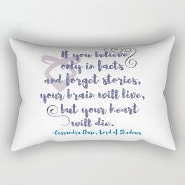 STORIES | CASSANDRA CLARE, LORD OF SHADOWS Rectangular Pillow