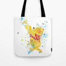 Winnie The Pooh Watercolor Art Tote Bag