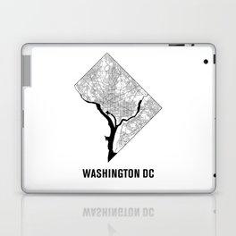 Washington DC Map B&W Laptop & iPad Skin
