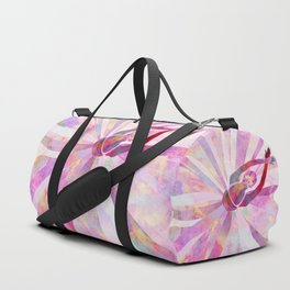 Sleeping Ballerina Floral Duffle Bag