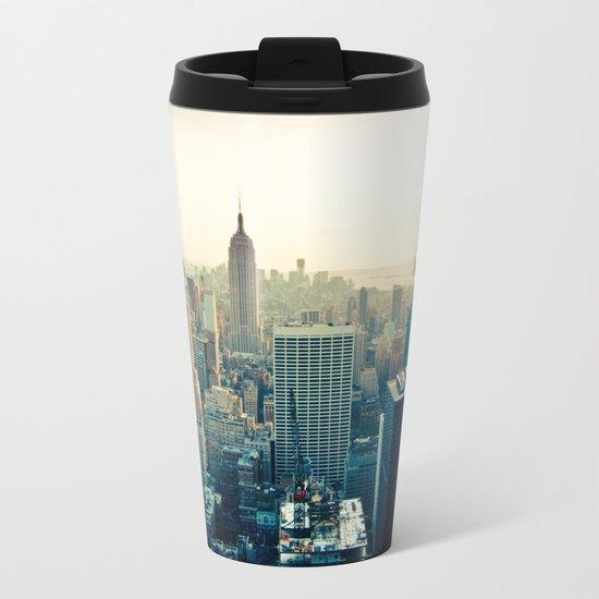 Good Evening New York City Metal Travel Mug