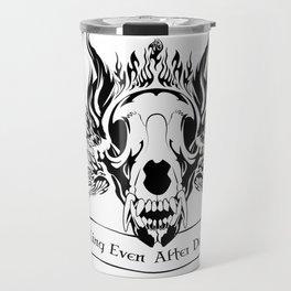 King Even After Death Travel Mug