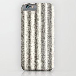 Tie Dye Stripes Charcoal iPhone Case