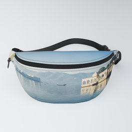 Pichola lake in Udaipur Fanny Pack