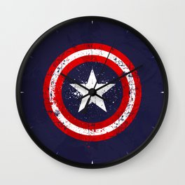 Captain's America splash Wall Clock