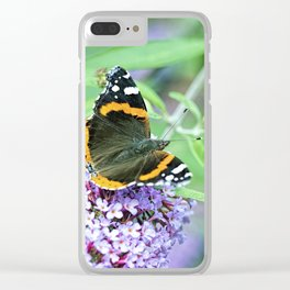 Butterfly VII Clear iPhone Case