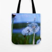 weed Tote Bags featuring Weed by Libby Rose