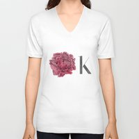 kim sy ok V-neck T-shirts featuring OK by youdesignme