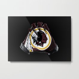 Washington Gloves Metal Print