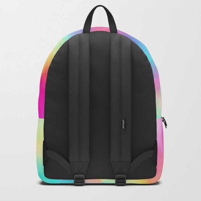 Heavenly Tie Dye Fractal Backpack