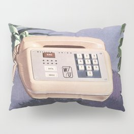 Late Nite Phone Talks Pillow Sham