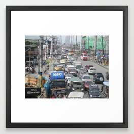 Imus Cavite. Framed Art Print