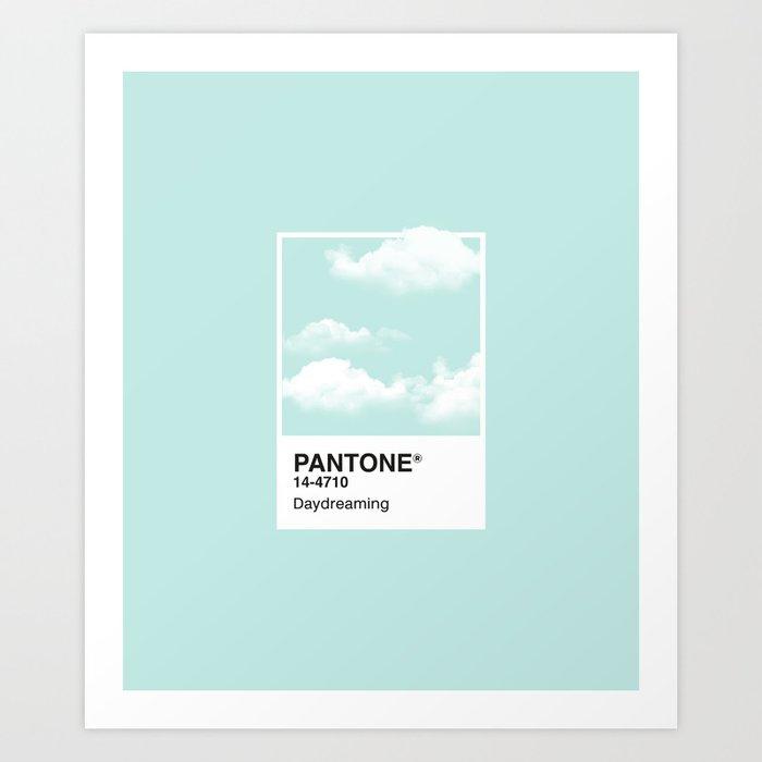 Pantone Series – Daydreaming Kunstdrucke