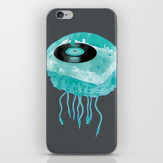 Deep Sea Audiophile iPhone & iPod Skin