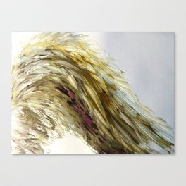 Once Upon A Wing of Yellow Canvas Print