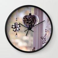 swedish Wall Clocks featuring Swedish window by Sushibird