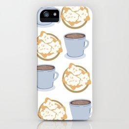 Beignets and Cafe Au Lait iPhone Case