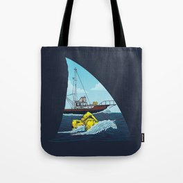 Jaws: The Orca Tote Bag