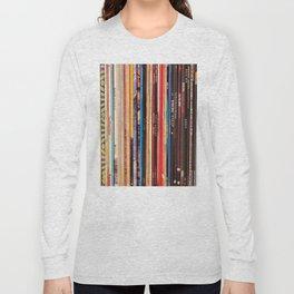 Indie Rock Vinyl Records Long Sleeve T-shirt