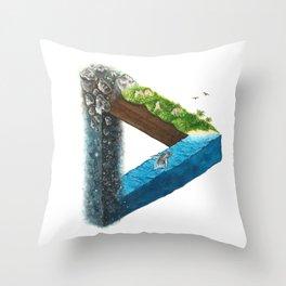 Connectivity Throw Pillow