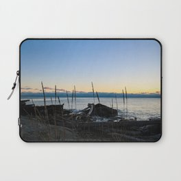 driftwood sunset Laptop Sleeve
