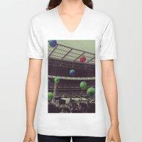 coldplay V-neck T-shirts featuring Coldplay at Wembley by Efua Boakye