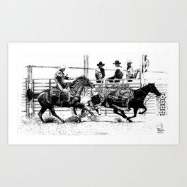 Taylorsville Rodeo Art Print