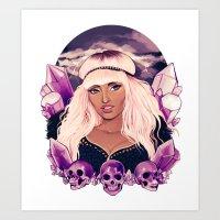 minaj Art Prints featuring Sugilite  by Riadoodles
