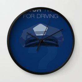 Driver Wall Clock
