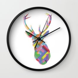 Dear, deer Wall Clock