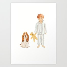 Time For Bed Art Print
