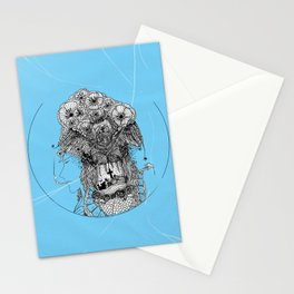 Monster III Stationery Cards