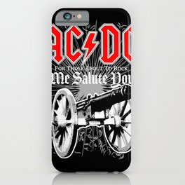 AC/DC - We Salute You iPhone Case