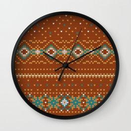 Pattern in Grandma Style #50 Wall Clock