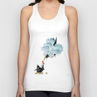 fight Tank Tops featuring Fight by TJ Zhang