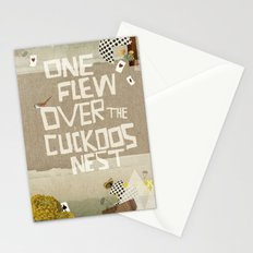 one flew over the cuckoos nest Stationery Cards