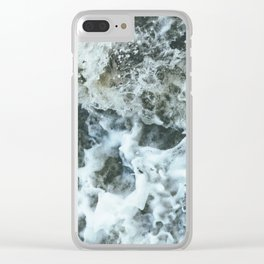 Grand River Splashing Clear iPhone Case